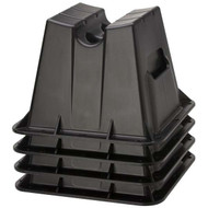 Attwood Pontoon Storage Blocks 4 Pk.