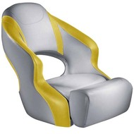 Attwood Aergo Boat Seat - Grey Base Color