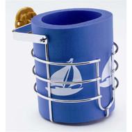 Attwood Gimballed Mug-Sized Drink Holder with Koozie