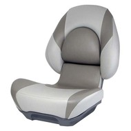 Attwood Centric II Fully Upholstered Seat - Grey Base Color