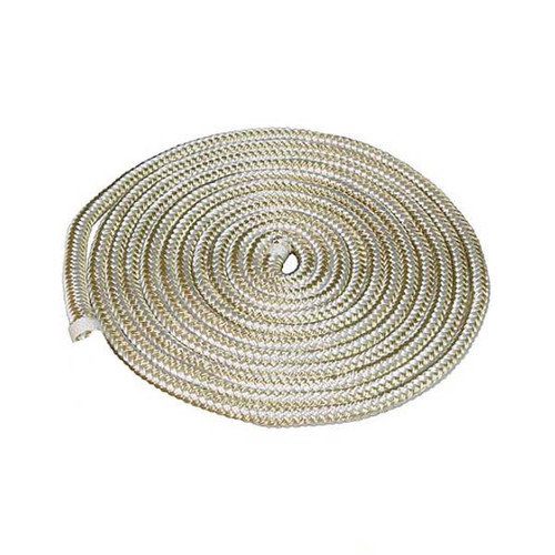 Aamstrand Double Braided Nylon Rope - Gold & White - Per Foot