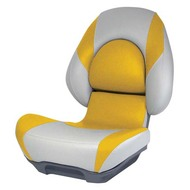 Attwood SAS Centric II Fully Upholstered Seat - Grey Base Color