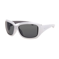 Bomber Women's Sugar Bombs Floating Sunglasses White/Smoke