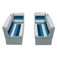 "Wise Boat Seats 36"" Bench & Lean Back Set"