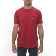 Yeti Coat of Arms T-Shirt - Red