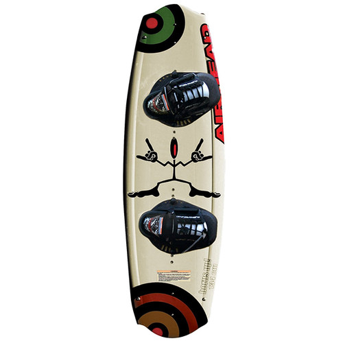 Airhead Horns-Up 134 Wakeboard w/ Vise Bindings