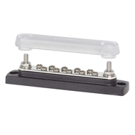 Blue Sea Systems BusBar - 10 Gang w/ Cover