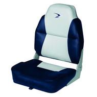 Wise Boat Seats Fishing Boat Series Premium High Back Folding Seat