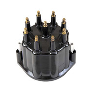 Sierra 18-5473 Black Distributor Cap W/ Male Terminals