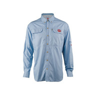 Penn Vented Performance Shirt - Blue Front
