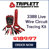 Triplett Fox & Hound HotWire 3388 Live Wire Circuit Tracing Kit