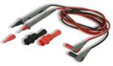 Cal Test  2mm ULProbe Set w/Alligs - PVC, 1.2m B/R