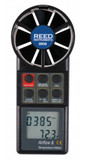 REED Instruments 8906 ANEMOMETER/THERMOMETER, ROTATING VANE W/ AIR VOLUME
