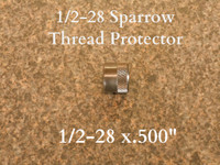 This thread protector will fit all of our 1/2-28 sparrow adapters.