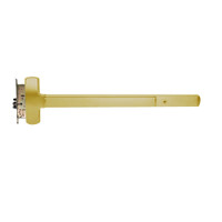 25-M-NL-OP-US3-3-LHR Falcon Exit Device in Polished Brass