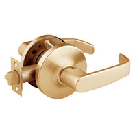 28-10U15-GL-10 Sargent 10 Line Cylindrical Passage Locks with L Lever Design and G Rose in Dull Bronze