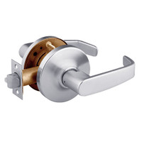 28-10G13-GL-26D Sargent 10 Line Cylindrical Exit Locks with L Lever Design and G Rose in Satin Chrome