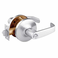28-10U68-GL-26 Sargent 10 Line Cylindrical Hospital Privacy Locks with L Lever Design and G Rose in Bright Chrome