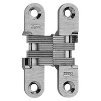 204C-US26D Soss Invisible Hinge in Satin Chrome Finish