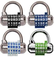 Master Lock 1534D Resettable WORD Combination Lock