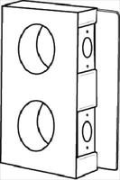 Keedex K-BXDBL234 Gate Box