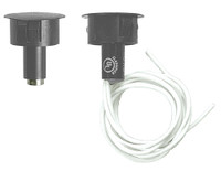 DPS-W-GY Securitron Door Position Switch for Wood Doors in Grey Finish