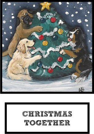 christmas-together-bernese-mt-dog-golden-retriever-mastiff-thumb.jpg