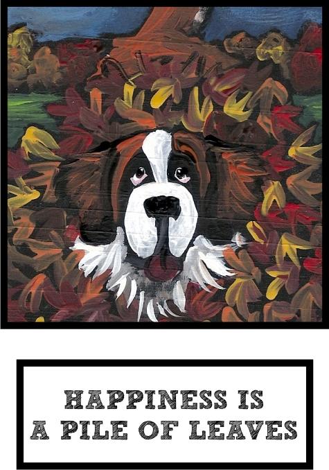 happiness-is-a-pile-of-leaves-saint-bernard-thumb.jpg