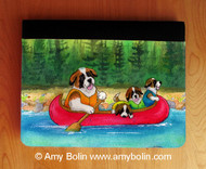 NOTEBOOKS (SEVERAL SIZES AVAILABLE) · SAINTS ON THE RIVER · SAINT BERNARD · AMY BOLIN