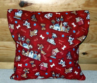 "Handmade Quilted 16"" by 16"" Pillow   By Dawn Johnson"