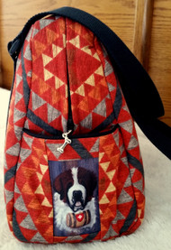 Handmade Purse     Saint Bernard     By Dawn Johnson