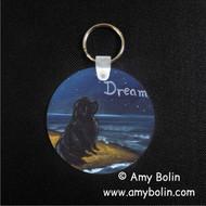KEY CHAIN · DREAM · BLACK NEWFOUNDLAND · AMY BOLIN