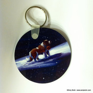 KEY CHAIN · A RAY OF HOPE · SAINT BERNARD  · AMY BOLIN