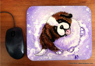 MOUSE PAD · A TASTE OF WINTER · SAINT BERNARD · AMY BOLIN