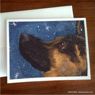 NOTE CARDS · WISH UPON A SNOWFLAKE · GERMAN SHEPHERD · AMY BOLIN