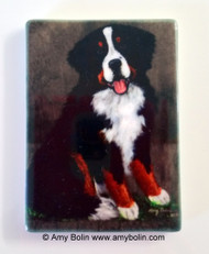 MAGNET · MERLIN · BERNESE MOUNTAIN DOG · AMY BOLIN