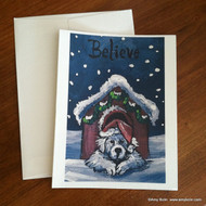 NOTE CARDS · BELIEVE · GREAT PYRENEES · AMY BOLIN