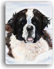 MAGNET · CHARLIE'S SNOW DAY · SAINT BERNARD · AMY BOLIN