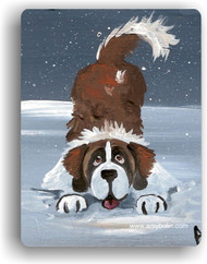 MAGNET ·  LET'S PLAY   · SAINT BERNARD · AMY BOLIN