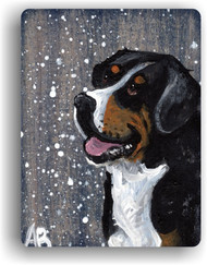 MAGNET · SWISSY · GREATER SWISS MOUNTAIN DOG · AMY BOLIN