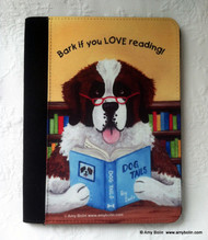 NOTEBOOKS (SEVERAL SIZES AVAILABLE) · DOG TAILS · SAINT BERNARD · AMY BOLIN
