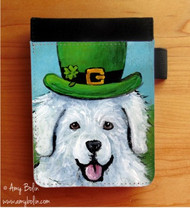 NOTEBOOKS (SEVERAL SIZES AVAILABLE) · A BIG, WET IRISH KISS · GREAT PYRENEES · AMY BOLIN