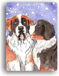 MAGNET · LITTLE KISS · BERNESE MOUNTAIN DOG, SAINT BERNARD · AMY BOLIN