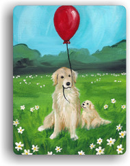MAGNET · A GOLDEN AFTERNOON  · GOLDEN RETRIEVER · AMY BOLIN