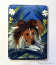 MAGNET · A SECRET TREAT · SABLE SHELTIE · AMY BOLIN