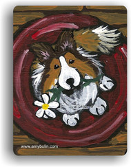 MAGNET · BE MINE · SABLE  SHELTIE · AMY BOLIN