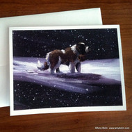 NOTE CARDS · A RAY OF HOPE · SAINT BERNARD · AMY BOLIN