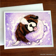 NOTE CARDS · A TASTE OF WINTER · SAINT BERNARD · AMY BOLIN