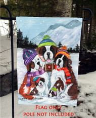GARDEN FLAG · GENERATIONS · SAINT BERNARD · AMY BOLIN