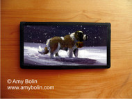 CHECKBOOK COVER · A RAY OF HOPE · SAINT BERNARD · AMY BOLIN